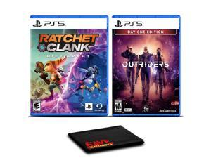 Ratchet and Clank: Rift Apart and Outriders Day One Edition - Two Games For PS5