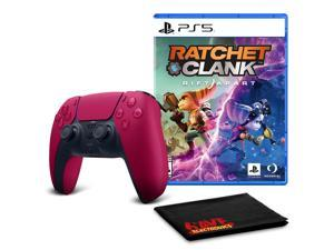 PS5 DualSense Wireless Controller (Cosmic Red)  with Ratchet and Clank