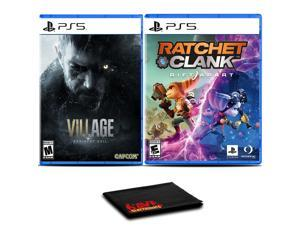 Resident Evil Village and Ratchet and Clank: Rift Apart - Two Games For PS5