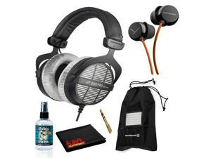 Beyerdynamic DT 990 Pro Headphones 250 Ohm Bundle with Beat Byrd Headphones