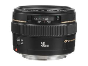 Canon EF 50mm f/1.4 USM Standard & Medium Telephoto Lens for Canon SLR Cameras - Fixed International Version