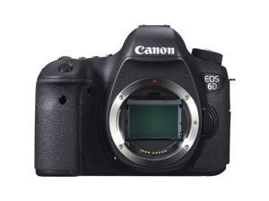Canon EOS 6D 20.2 MP CMOS Digital SLR Camera with 3.0-Inch LCD (Body Only) - Wi-Fi Enabled International Version