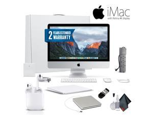 Apple iMac MNDY2LL/A 21.5 Inch, 3.0GHz Intel Core i5, 8GB RAM, 1TB HD, With Magic TrackPad 2, Warranty, Apple Superdrive, Apple AirPods and More .  - Professional Bundle