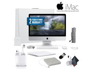 Apple iMac MMQA2LL/A 21.5 Inch Desktop Computer  ,2.3GHz Core i5, 8GB RAM, 1TB HD,  With Magic TrackPad 2, Warranty, Apple Superdrive, Apple AirPods and More - Professional Bundle