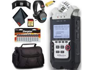 Zoom H4n Pro 4-Channel Handy Recorder Master Bundle