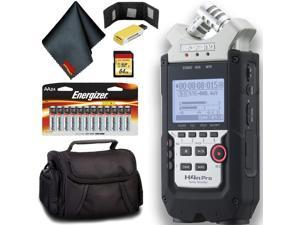Zoom H4n Pro 4-Channel Handy Recorder Pro Bundle