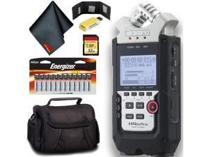 Zoom H4n Pro 4-Channel Handy Recorder Intermediate Bundle
