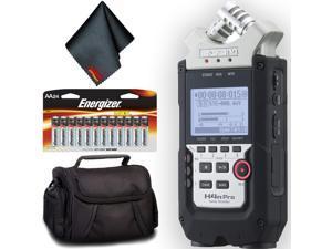 Zoom H4n Pro 4-Channel Handy Recorder Base Bundle