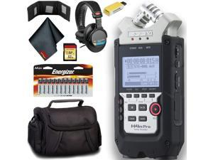 Zoom H4n Pro 4-Channel Handy Recorder Plus Bundle