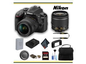 Nikon D3400 1571 DSLR Camera with 18-55mm Lens (Black) - Newegg com