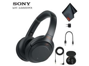 70eec8e90b7 Sony Wireless Noise-Canceling Over-Ear Headphones (Black) ...