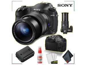 Cyber-shot DSC-RX10 IV Digital Camera with Extra Rechargeable Battery + Accessory Kit