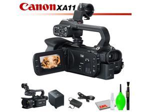 Canon XA11 Compact Full HD Camcorder with HDMI and Composite Output (PAL) with Cleaning Kit