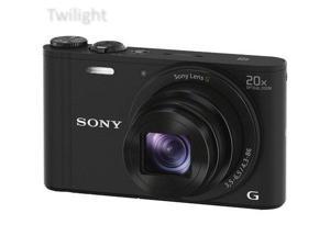 Sony Cyber-shot DSC-WX350 Digital Camera (Black) (International Model)