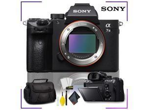 Sony Alpha a7 III Mirrorless Digital Camera with Camera Cleaning Kit Bundle + Camera Case