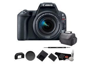 Canon EOS Rebel SL2 Digital SLR Camera with 18-55mm Lens - Starter Bundle