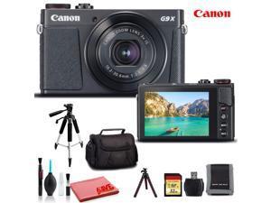 Canon PowerShot G9 X Mark II Digital Camera (Black) (Intl Model) - Premium Kit