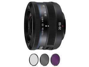 Samsung 20-50mm f/3.5-5.6 ED II Lens - Black with Pro Filter