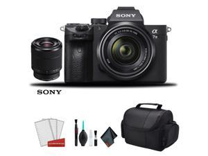 Sony Alpha a7 III Full Frame Mirrorless Digital Camera with 28-70mm Lens - Bundle Kit