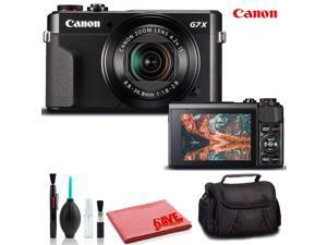 Canon PowerShot G7 X Mark II Digital Camera (Intl Model) - Deluxe Kit