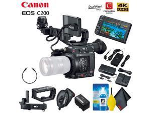 Canon EOS C200 Cinema Camera (EF-Mount) Base Accessory Kit
