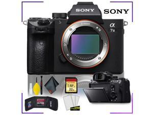 Sony Alpha a7 III Mirrorless Digital Camera with Camera Cleaning Kit Bundle + 32gb Memory SD Card