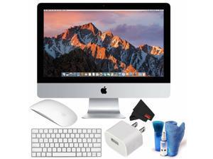 Apple 21.5 Inch iMac Desktop Computer 2.3 GHz (Mid 2017 Version) Bundle with Screen Cleaner