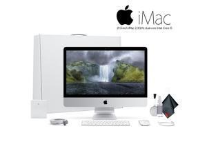 Apple iMac MMQA2LL/A  21.5 Inch Desktop Computer  ,2.3GHz Core i5, 8GB RAM, 1TB HD, .  Starter Bundle