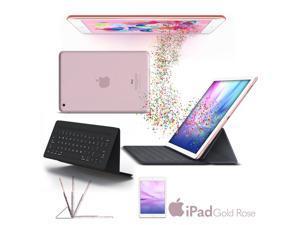 "Apple 9.7"" iPad Pro (32GB, Wi-Fi + 4G LTE, Rose Gold) 2016 Model + Original Apple Smart Keyboard for iPad Pro 9.7-inch MM2L2AM/A"