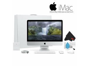 Apple iMac 21.5 Inch Desktop Computer (2.3GHz Core i5, 8GB RAM, 1TB HD) MMQA2LL/A. Standard Bundle