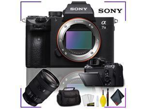 Sony Alpha a7 III Mirrorless Digital Camera (Body Only) + Sony FE 24-105mm f/4 G Lens