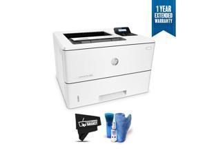 HP Monochrome LaserJet Pro Printer M501dn w/HP JetAdvantage Security, (J8H61A) Bundle with 1 Year Extended Warranty