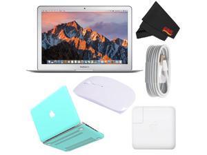 "Apple 13.3"" MacBook Air 256GB SSD #MQD42LL/A (Newest Version 2017 Model) Turquoise Bundle"