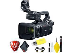 Canon XF400 4K UHD 60P Camcorder with Dual-Pixel Autofocus Base Kit