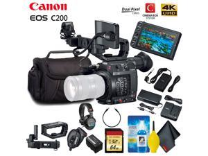 Canon EOS C200 Cinema Camera (EF-Mount) Standard Accessory Kit
