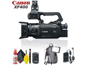 Canon XF400 UHD 4K60 Camcorder with Dual-Pixel Autofocus Standard Accessory Kit