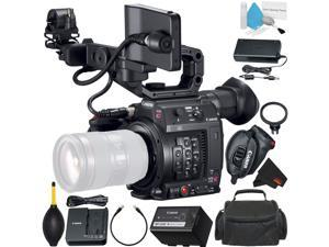 Canon EOS C200 Cinema Camera -EF-Mount International Model (2215C002) Bundle with Carrying Case + More