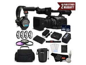 Panasonic AG-UX180 4K Premium Professional Camcorder International Version Deluxe Plus Warranty Bundle