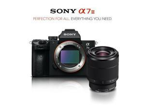 Sony Alpha a7 III Mirrorless Digital Camera Intl Model with 28-70mm Lens