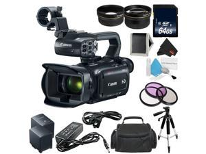Canon XA11 Compact Professional Camcorder - Full HD with HDMI and Composite Output (PAL) - Bundle with 64GB Memory Card + More