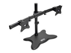 Tripp Lite Dual-Monitor TV Desktop Display Mount Stand Full Motion 13 - 27
