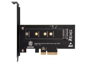 M KEY Nvme M.2 NGFF SSD to PCI-e 3.0 x4 Converter Adapter Expansion Card