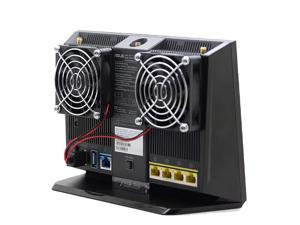 Cooling Fan Heat Radiator USB Power Ultra Silent Dissipate Temperature Control For RT-AC68U EX6200 AC15 AC68U Router