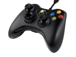 Wired Controller for Xbox 360 Windows & Xbox 360 Console- Black