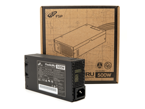 FSP Mini ITX Solution / Flex ATX 500W 90%+ Efficiency Full Range Active PFC Power Supply (Flex Guru FSP500-50FDB)