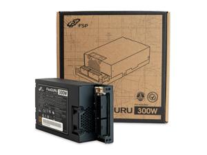 FSP Mini ITX Solution / Flex ATX 300W Fully Modular Cable Management Efficiency >90% Full Range Active PFC Power Supply (FSPFSP300-57FCB) Flex Guru 300W (New Edition)