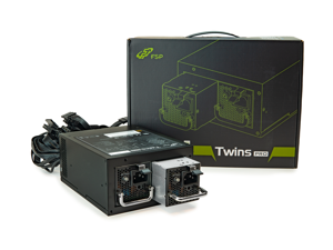 FSP Twins Pro ATX PS2 1+1 Dual Module 700W Efficiency Greater than 90% Hot-swappable Redundant Digital Power Supply with Guardian Monitor Software (Twins Pro 700)