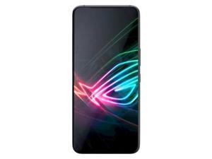 Asus ROG Phone 3 128GB+12GB Dual SIM ZS661KS GSM Factory Unlocked 4G LTE 6.59 in AMOLED Display Triple 64MP + 13MP + 5MP Camera Smartphone - Black Glare - International Version -  Strix Edition