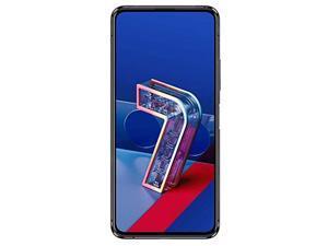 Asus Zenfone 7 Pro 256GB ZS671KS Dual SIM GSM Factory Unlocked 5G 6.67 in Super AMOLED Display 8GB RAM Triple Camera Smartphone - Aurora Black - International Version