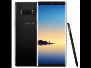 """Samsung Galaxy Note 8 64GB N950U AT&T 6.3"""" Super AMOLED 6GB RAM Dual 12MP + 12MP Camera Smartphone - Midnight Black"""